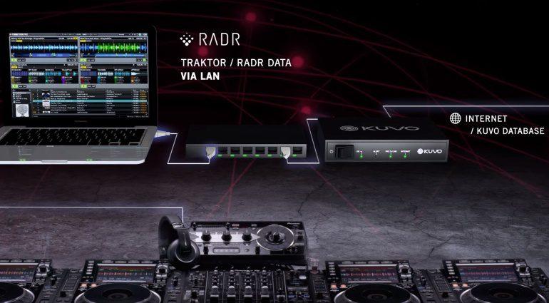 Kooperation zwischen Pioneer DJ und Richie Hawtin bzw. Kuvo und RADR