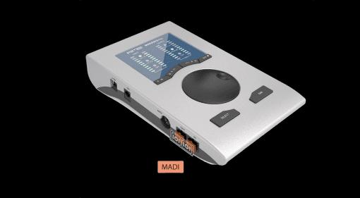 RME MADIface Pro USB Audiointerface Front Seite Schwarz
