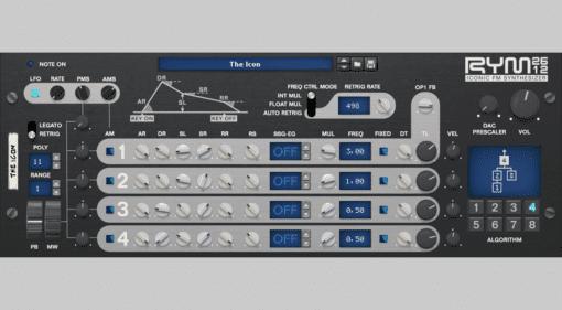 RYM2612 Iconic FM Synthesizer - legendäre Game-Sounds selbst gemacht