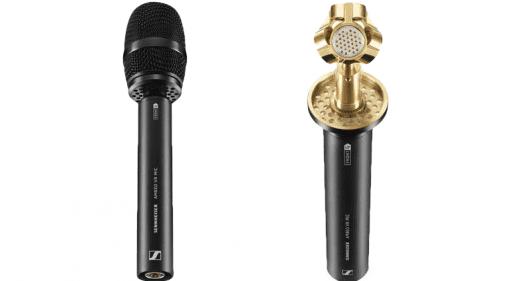 Sennheiser Ambeo VR 3D Ambisonics Mikrofon Front Popschutz