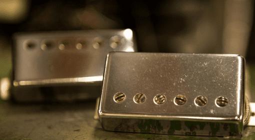 Seymour Duncan High Voltage Humbucker Aged Look Set Front Custom Shop
