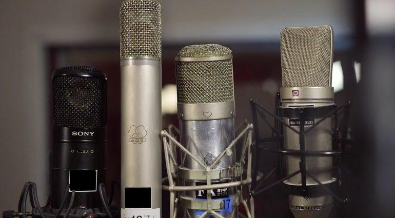 Slate Digital VMS vs Original Neumann AKG SOny Mikrofone Vergleich Shootout Video