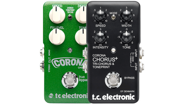 TC Electronic Corona Chorus Flanger Limited Edition Effekt Pedal Front