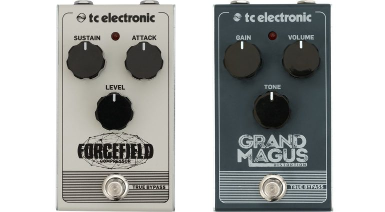 TC Electronic Pedal Front Forcefield Compressor Grand Magnus Distortion
