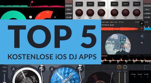 Top5 kostenlose iOS DJ Apps