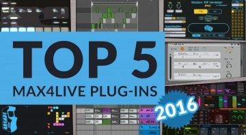 Top 5 Max 4 Live Plug-ins Topliste