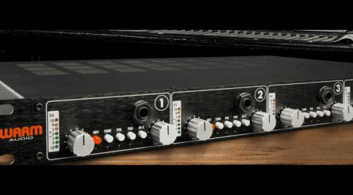 Warm Audio WA-412 Mikrofon Preamp API Rack Mic Vorverstaerker