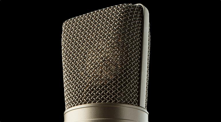 Warm Audio WA87 Neumann U87 Klon Korb Front Close Up Mikrofon