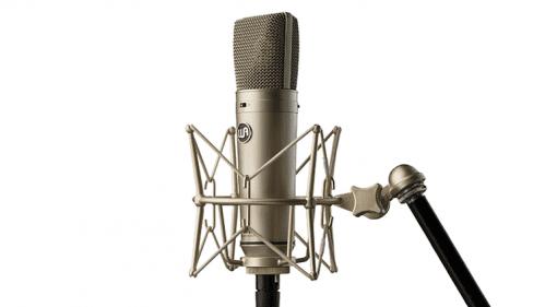 Warm Audio WA87 Neumann U87 Klon Staender Total Mikrofon