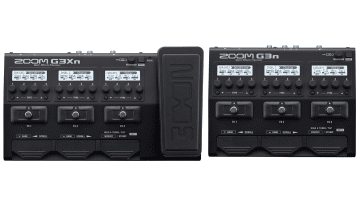 Zoom G3n G3Xn Multi Effekt Pedale Front Top DSP