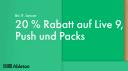 Ableton gibt Rabatt auf Live, Push 2 und alle Packs!