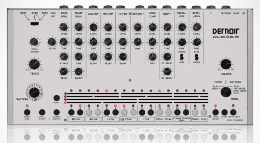 Acidlab Detroit - Roland TR-909 Clone aus Deutschland