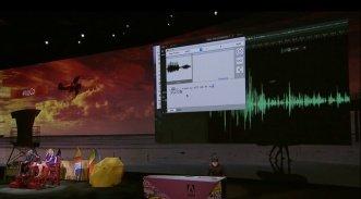 Adobe VoCo MAX Event Praesentation Audio Editing