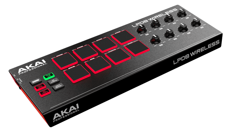 LEAK: AKAI LPK25 Wireless und LPD8 Wireless - kontrollieren ohne Kabel