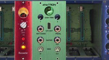 Anatronics Anatron Roehren Tube Overdrive Multimode Filter Effekt 500 Modul Rack
