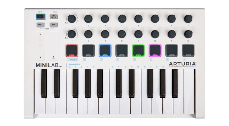 Arturia MiniLab Mk II - ein all-in-one Studiocontroller für den mobilen Producer