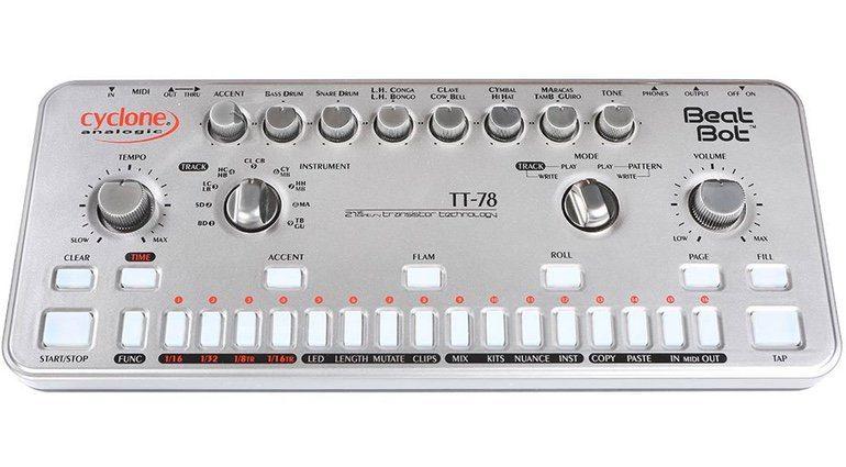 Cyclone Analogic TT-78 Beat Drum Machine Roland Clone Bot Front