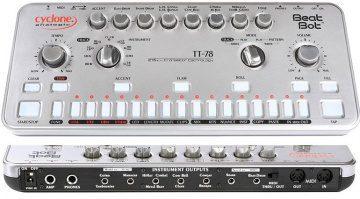 Cyclone Analogic TT-78 Beat Drum Machine Roland Clone Bot Front Anschluesse Rueckseite