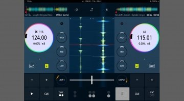 DJ Player Pro 9 iOS Classic View