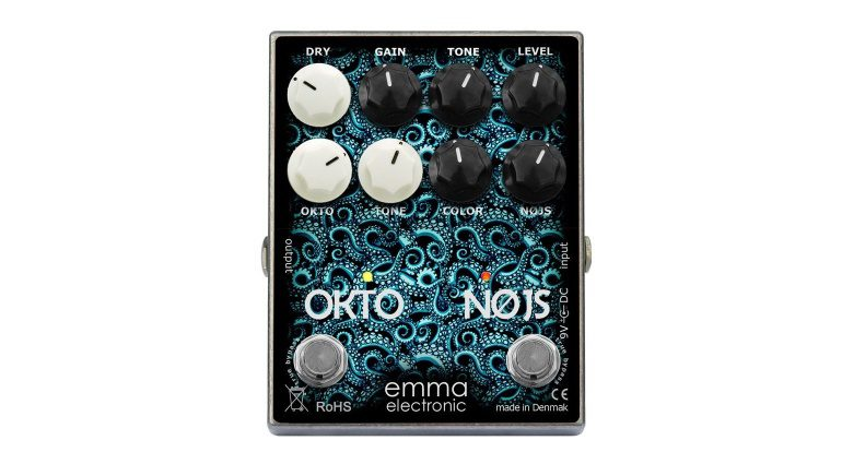 EMMA Electronic OKTO-NØJS ON-1 Oktaver Fuzz Pedal Front Total Big