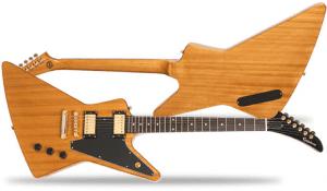 Epiphone Korina Explorer Guitar Front Back