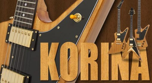 Epiphone Korina Limited Edition Guitar Bass Explorer Flying V