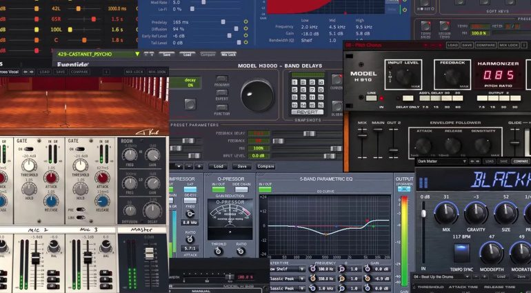 Eventide Black Friday Sale 2016 Plug-in GUIs