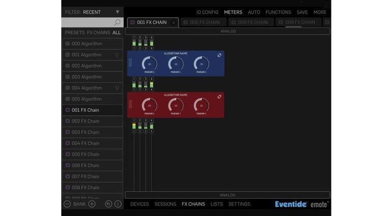 Eventide H9000 Leak Emote Software DSP Mixer GUI 2