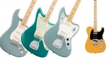 Fender American Professional Series Jazzmaster Jaguar Stratocaster Telecaster E-Gitarre FRont