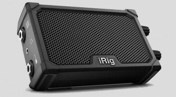 IK Multimedia iRig Nano Amp Front SChraeg Grau