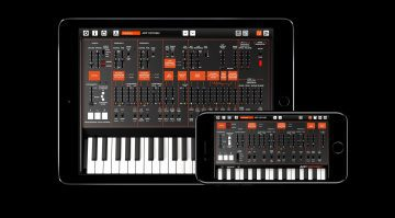 KORG ARP ODYSSEi Synthesizer App iOS iPhone iPad GUI Keyboard