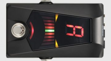 Korg Pitchblack Advance Pedal Tuner Stimmgeraet Close Up