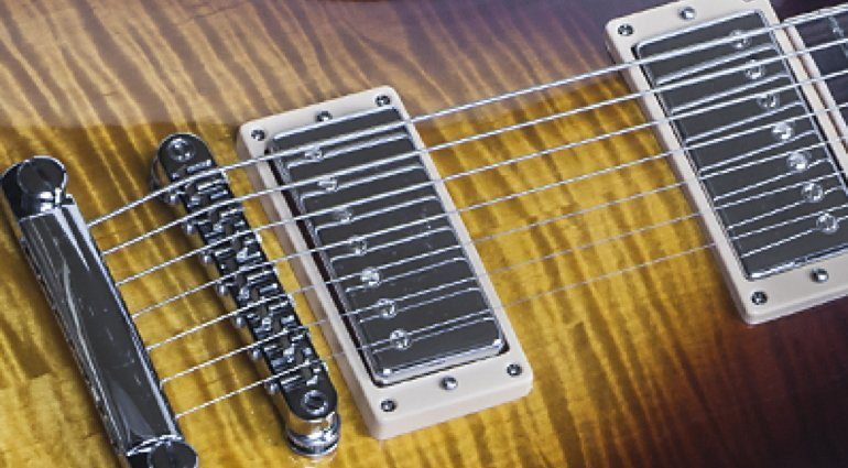 Gibson Les Paul Standard 7-String Limited Pickups
