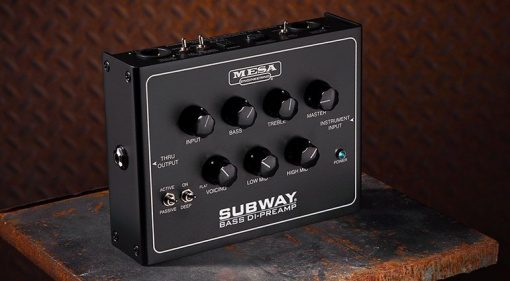 Mesa Boogie Subway DI Preamp Pedal Front