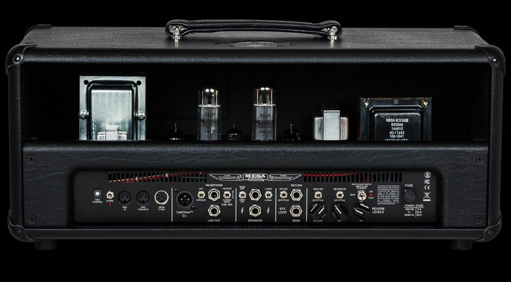 Mesa Boogie Triple Crown TC-50 Topteil Head Back Rueckseite