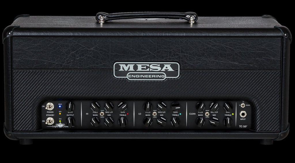 Mesa Boogie Triple Crown TC-50 Topteil Head Front