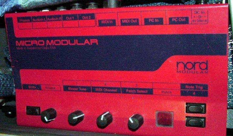 Clavia Micromodular
