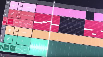 Microsoft Groove Music Maker Windows 10 Creators Update DAW GUI