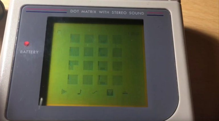 Nanoloop Mono Game Boy Analog Monophon Synthesizer Display
