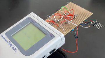 Nanoloop Mono Game Boy Analog Monophon Synthesizer Prototyp
