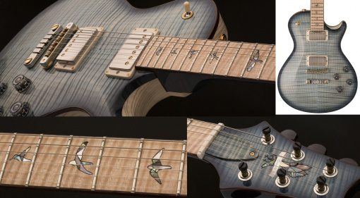 Paul Reed Smith PRS McCarty 94 Private Stock Front Mosaik Close Up