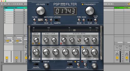PSP Stomp Filter - Filter Modulationen für kreative Köpfe