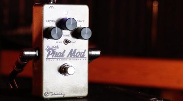 Robert Keeley Super Phat Mod Overdrive Pedal Front