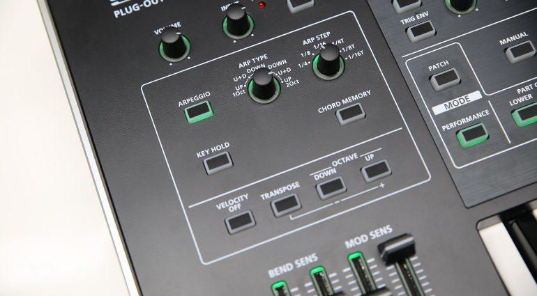Roland System8 Arpeggiator