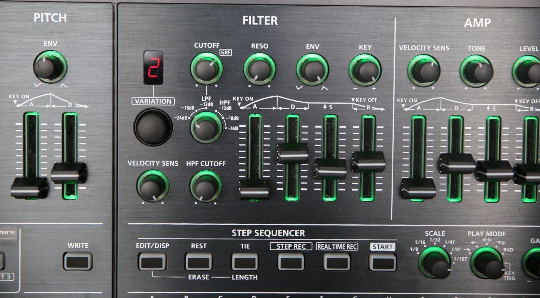 Roland System8 Filter Detail