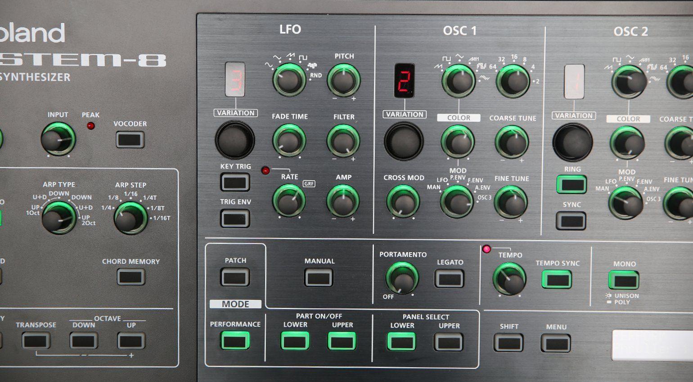 Roland System8 Oszillator u LFO Variation