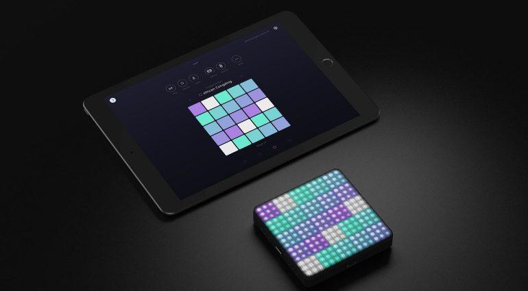 Roli Blocks Lightpad Block iOS Noise App Touch Controller Front