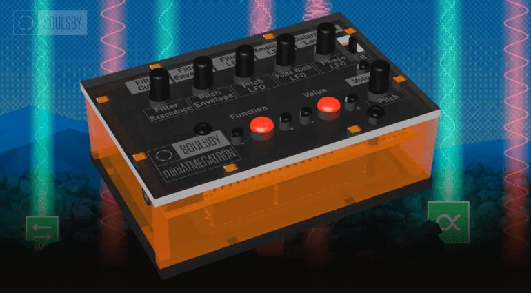Soulsby miniAtmegatron - vielseitiger 8-Bit Mini-Synthesizer als DIY Baukasten