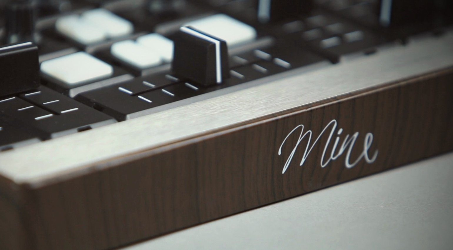 Special Waves Mine MIDI Controller Close Up