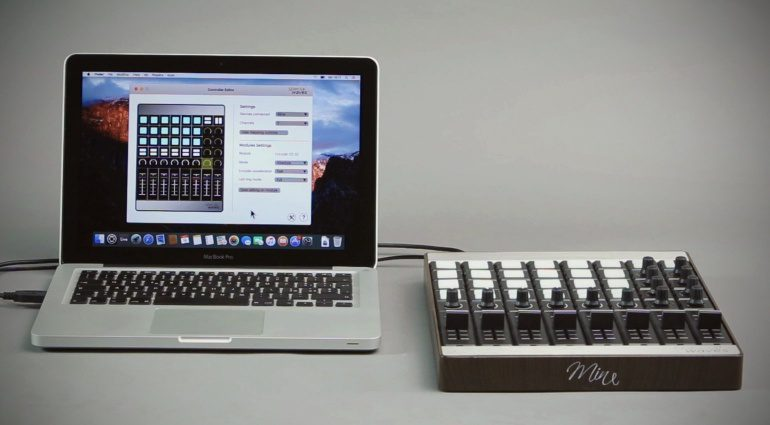 Special Waves Mine MIDI Controller Modular Front PC